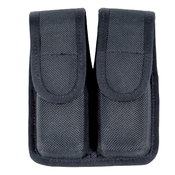 Blackhawk Double Mag Pouch, Single Stack, Matte Finish Black - BH-410510PBK