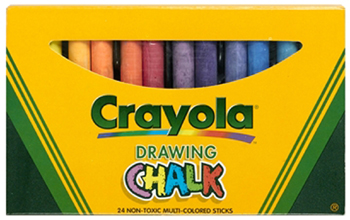 Crayola Colored Drawing Chalk 24pk - BIN510404