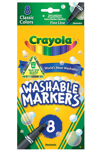 Washable Drawing Marker 8 Colors - BIN7809