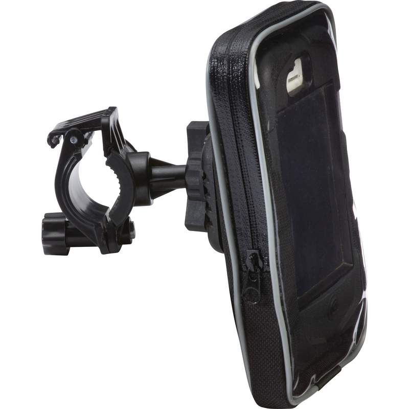 Diamond Plate™ Adjustable, Waterproof Motorcycle/bicycle Smartphone Mount - BKPHDLR