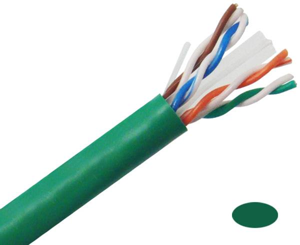 CAT6 Ethernet Cable 23AWG UL Listed 600MHz CMR Rated 1000ft. #5015RB