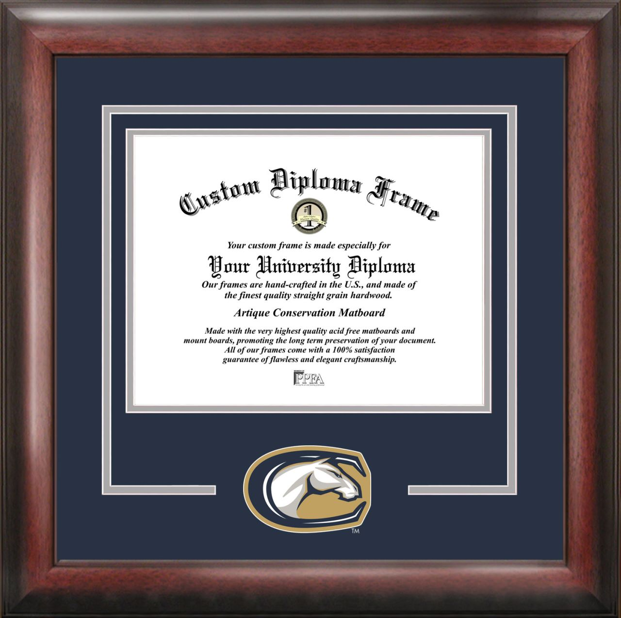 University of California, Davis Spirit Diploma Frame