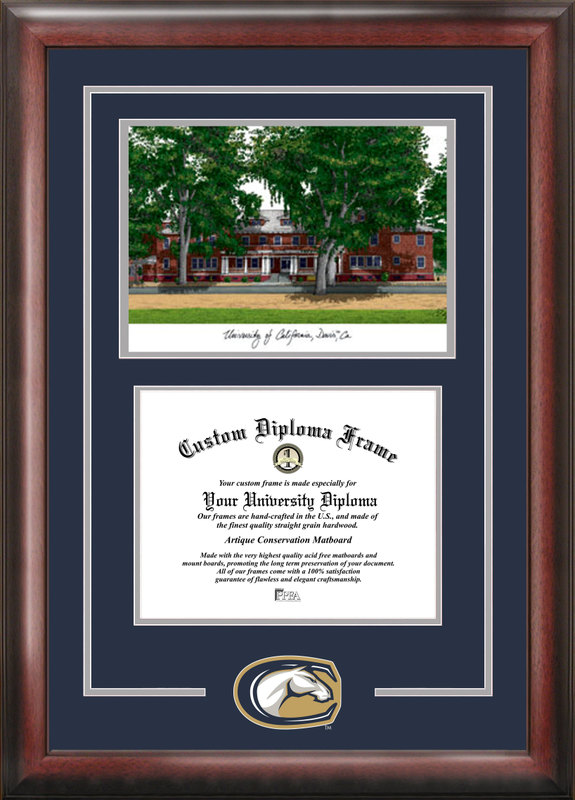 University of California, Davis Spirit Graduate Frame with Campus Image