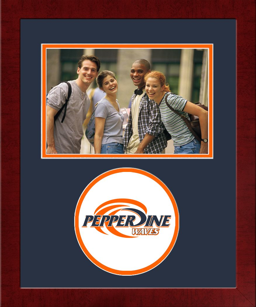 Pepperdine University Spirit Photo Frame (Horizontal)