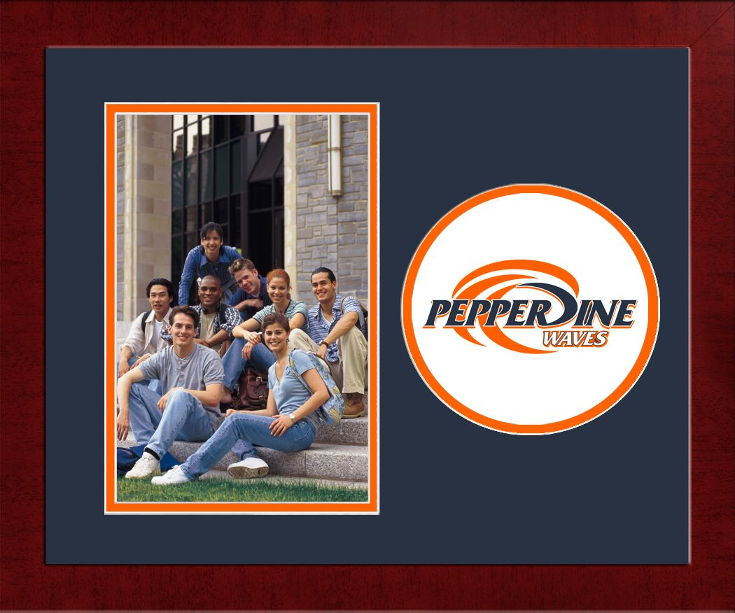 Pepperdine University Spirit Photo Frame (Vertical)