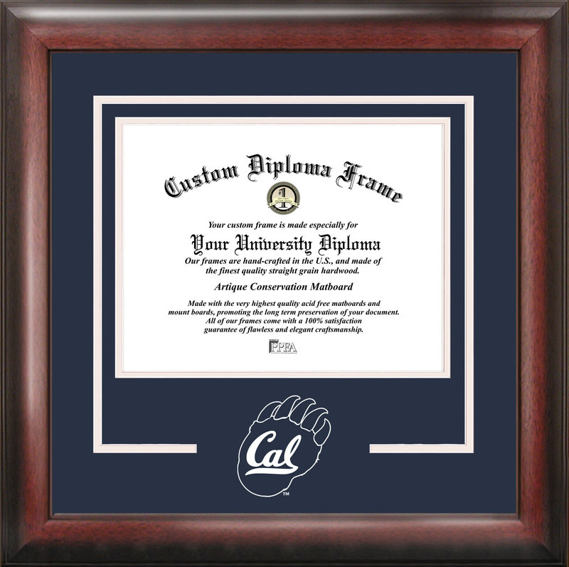 University of California, Berkeley Spirit Diploma Frame