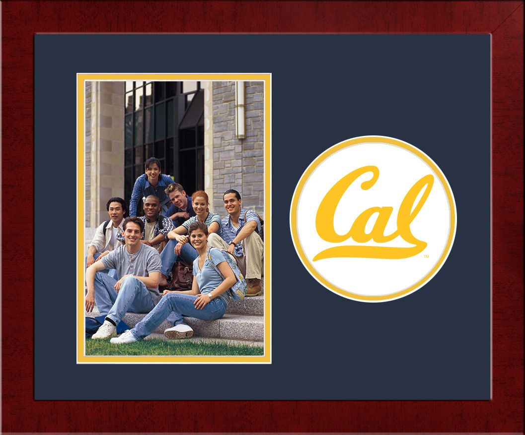 University of California, Berkeley Spirit Photo Frame (Vertical)