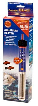 Penn Plax Cascade 100 Watt Submersible Aquarium Heater - CH8100