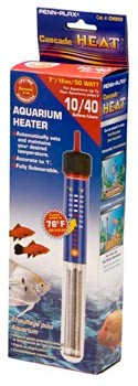 Penn Plax Cascade 50 Watt Submersible Aquarium Heater  - CH850 - CH850