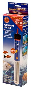 Penn Plax Cascade 75 Watt Submersible Aquarium Heater - CH875