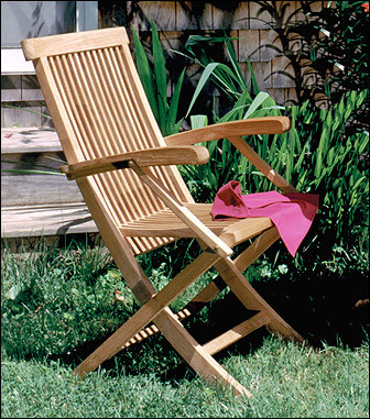 Anderson Teak CHF102 Classic Folding Armchair