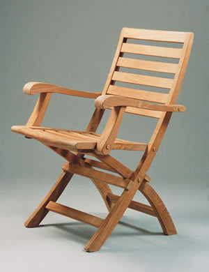 Anderson Teak CHF109 Andrew Folding Armchair