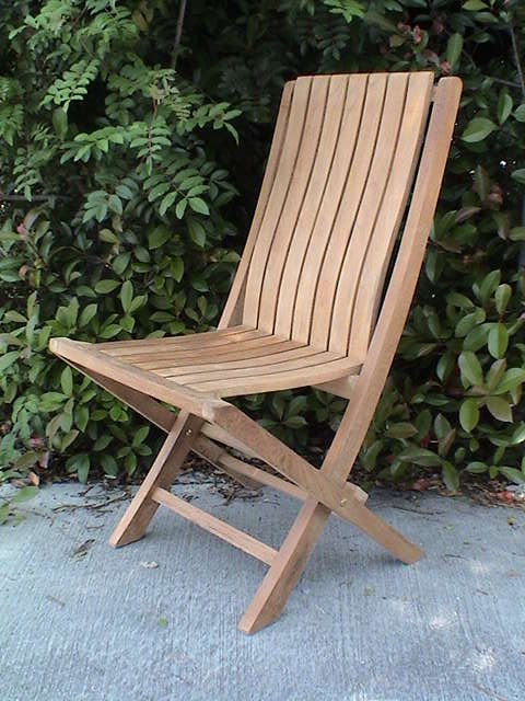 Anderson Teak CHF301 Comfort Folding Chair