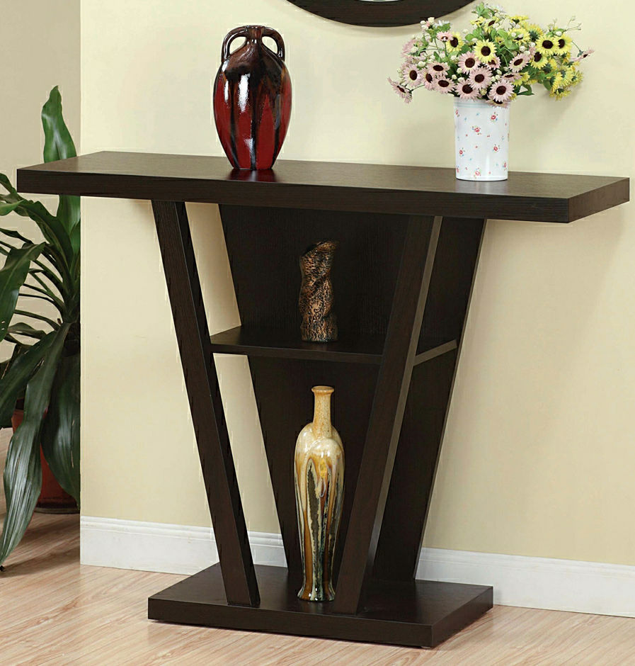 Modern Accent Console Display Table Hallway Entryway