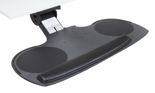 Sunway CMLZX827CH Lift & Lock adjustable keyboard tray system with LYNX keyboard/mouse tray