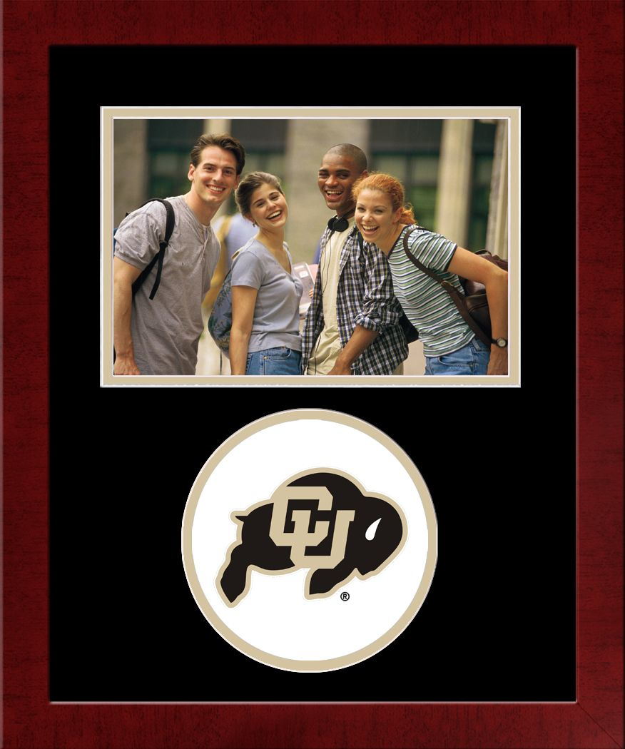 University of Colorado, Boulder Spirit Photo Frame (Horizontal)