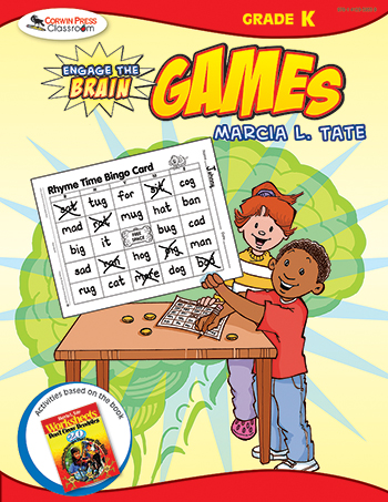 Engage The Brain Games Kindergarten - COR9781412959339