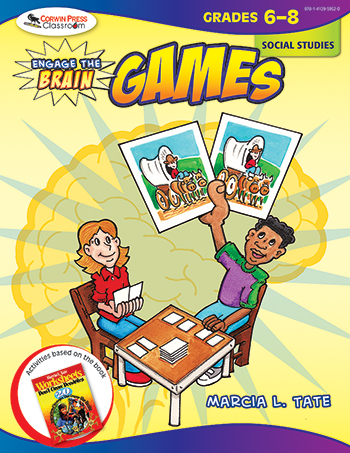Engage The Brain Games Social Studies Gr 6-8 - COR9781412959520