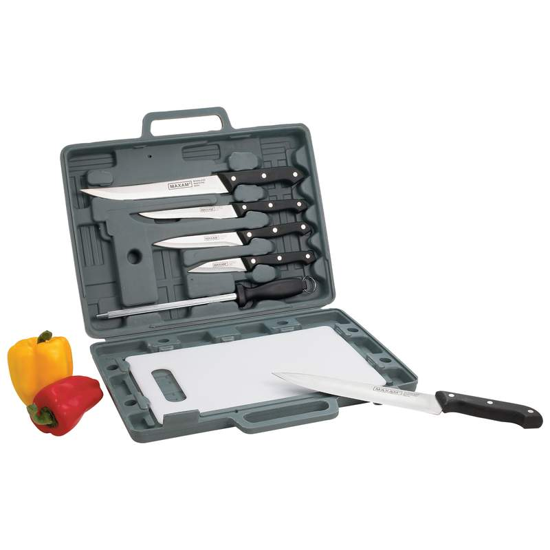 Maxam® Knife Set With Cutting Board - CT82 - CT82