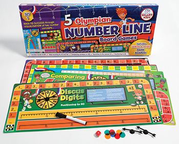 5 Olympian Number Line Games - DD-506015