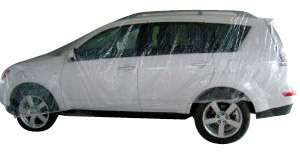 Universale Disposable Cover fits SUV-Van 16 ft  x 24 ft