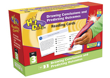 Hot Dots Reading Comprehension Kits Set 3 Drawing Conclusions - EI-2792