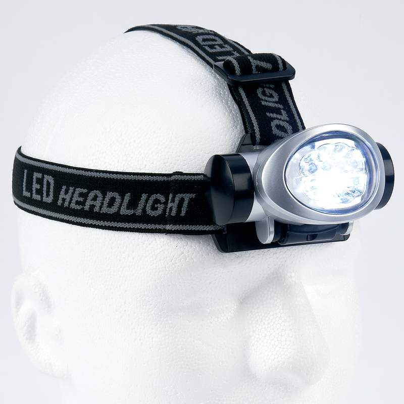 Mitaki-japan® 8-bulb Led Head Lamp - ELHDLT8