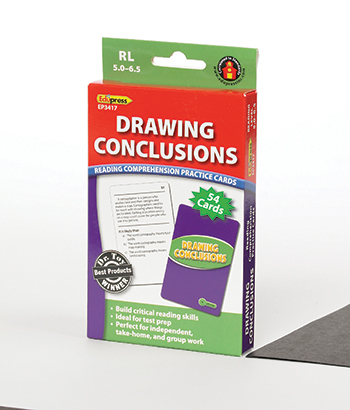 Drawing Conclusions Cards Reading Levels 5.0-6.5 - EP-3417