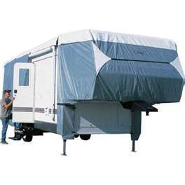 5th Wheel Trailer Cover fits Trailers  23 ft  to 26 ft