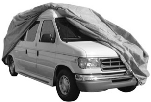 Waterproof VanCover Fits up to 19 ft  w/24