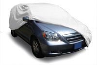 Elite Tyvek UV Protective Mini Van Covers Elite Tyvek Station Wagon Cover fits up to 13 ft