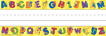 Alphabites Self Adhesive Name Plates - EU-843502 - EU-843502