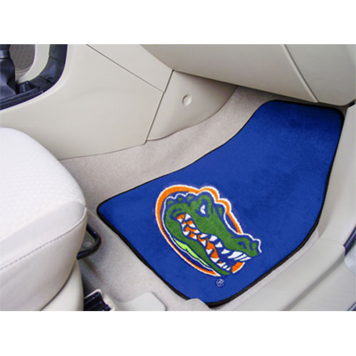 Florida Gators NCAA Car Floor Mats (2 Front) Gator Head
