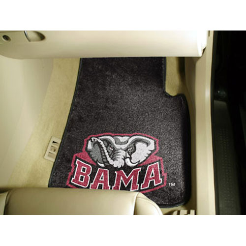 Alabama Crimson Tide NCAA Car Floor Mats (2 Front)