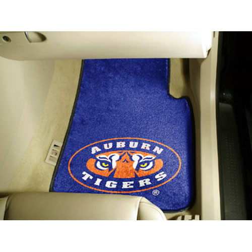 Auburn Tigers NCAA Car Floor Mats (2 Front) Tiger Eye