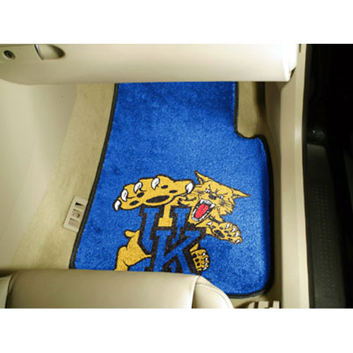 Kentucky Wildcats NCAA Car Floor Mats (2 Front) Wildcat Logo