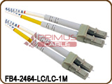 Primus LC/PC-LC/PC, Multimode, Duplex, Patch Cable - 1 Meter - FB4-2464-LC/LC-1M