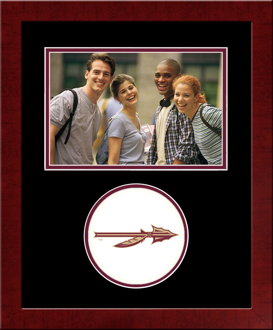 Florida State University Spirit Photo Frame (Horizontal)