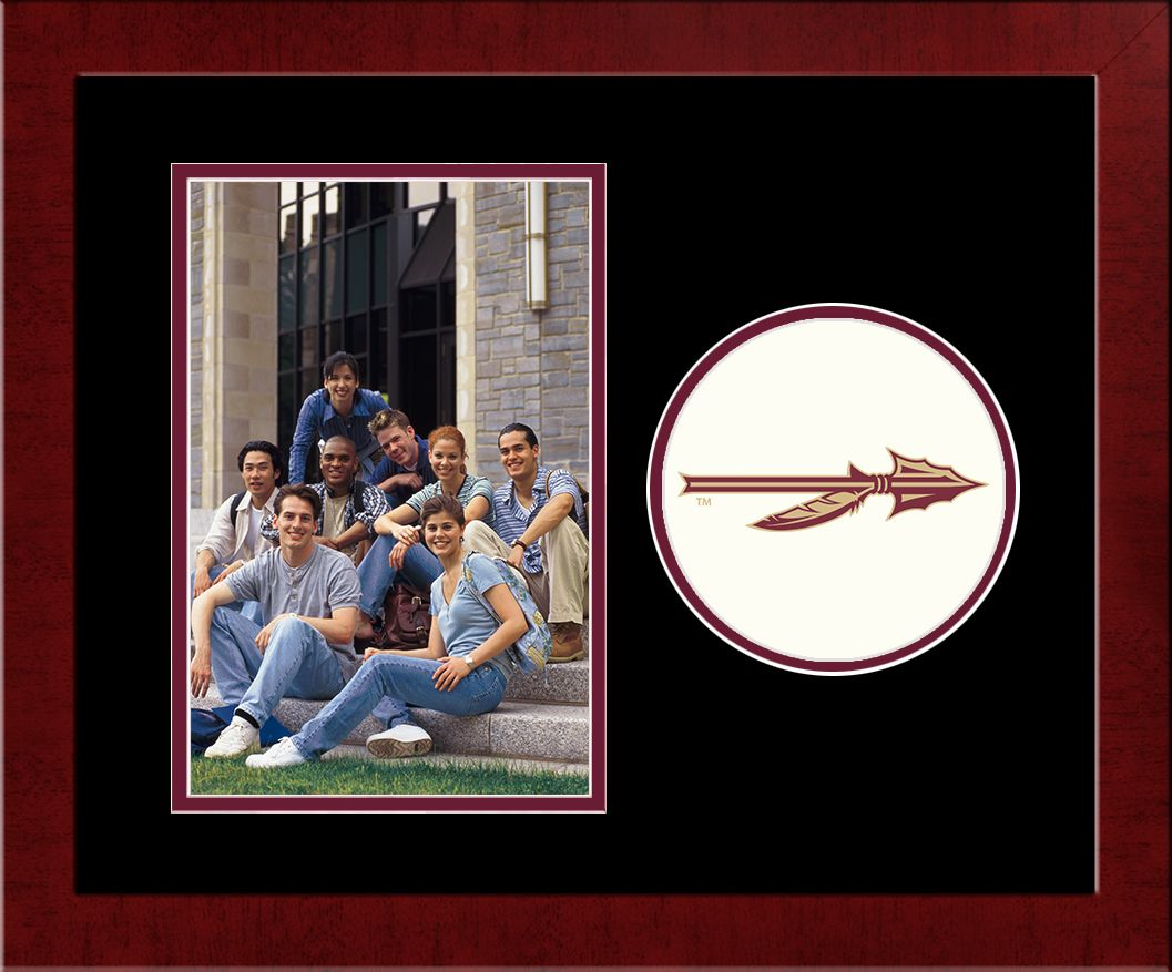 Florida State University Spirit Photo Frame (Vertical)