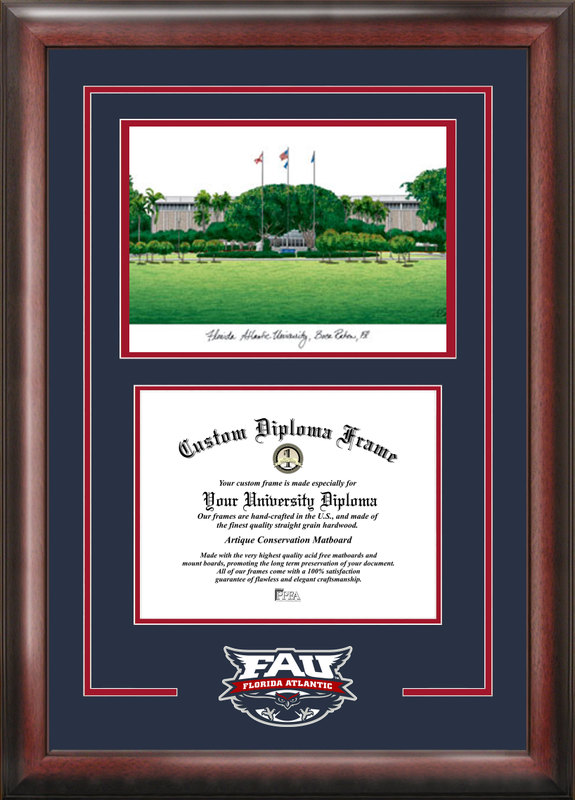 Florida Atlantic University Spirit Graduate Frame