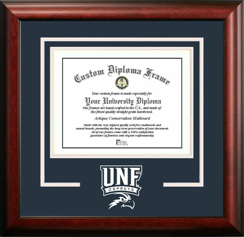 University of North Florida Spirit Diploma Frame