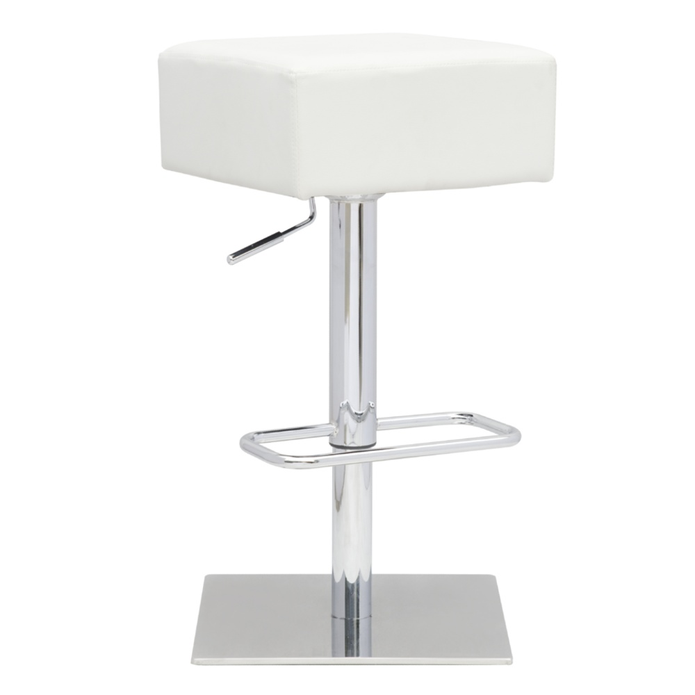 Fine Mod Imports  Marshmallow Bar Stool, White