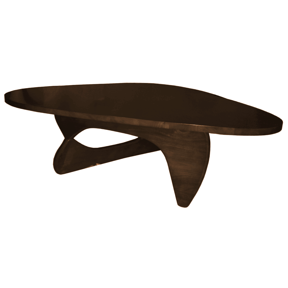 Fine Mod Imports  Rare Coffee Table, Dark Walnut