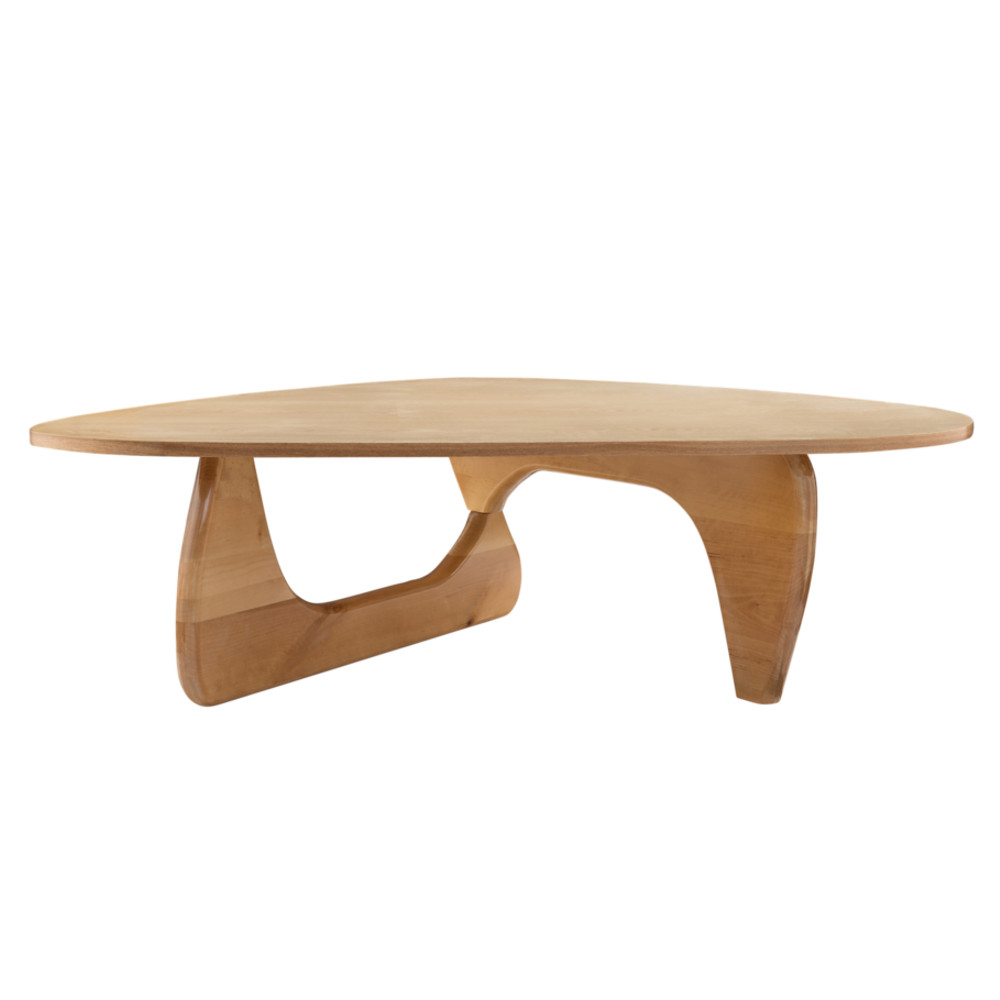 Fine Mod Imports  Rare Coffee Table, Natural