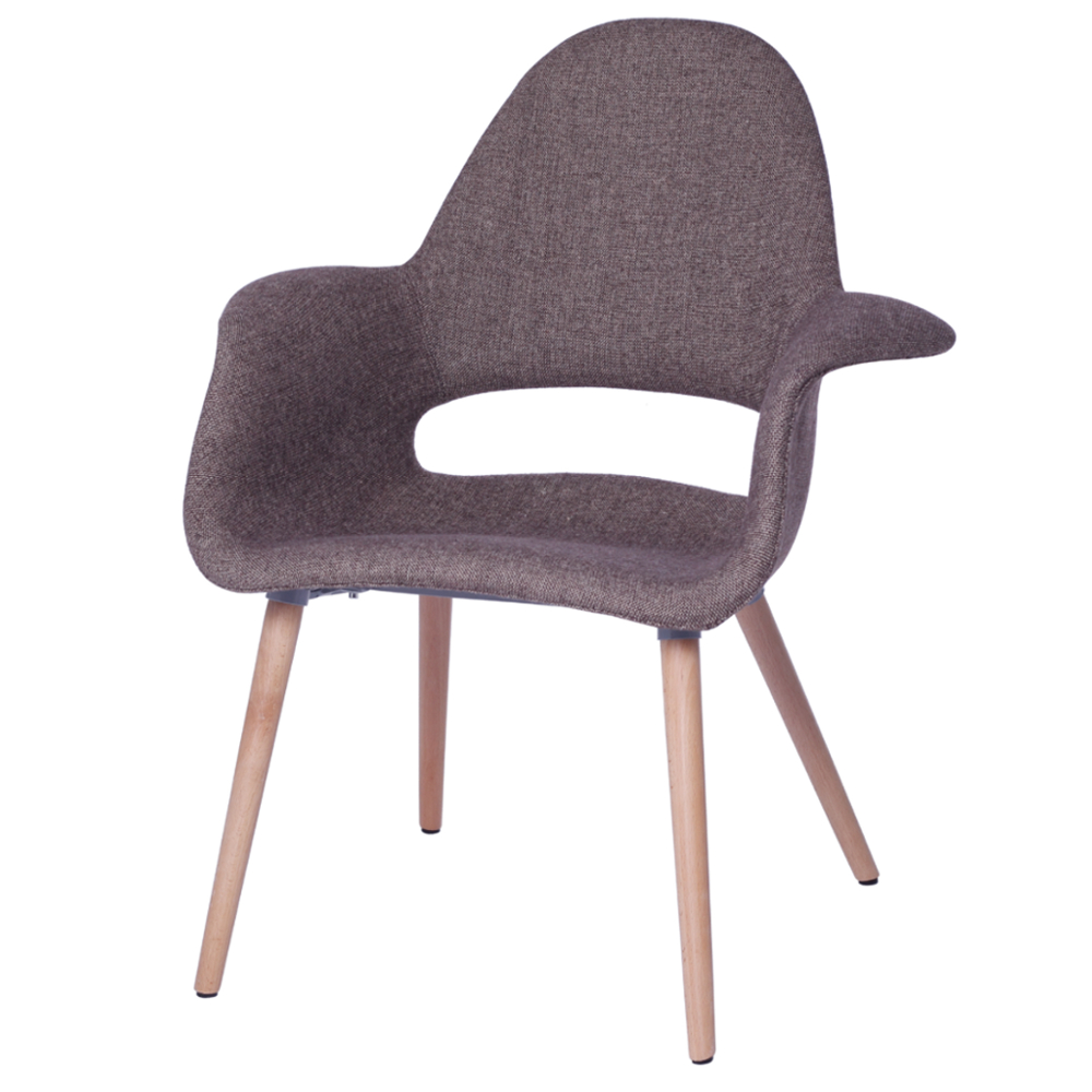 Fine Mod Imports  Forza Dining Chair, Brown