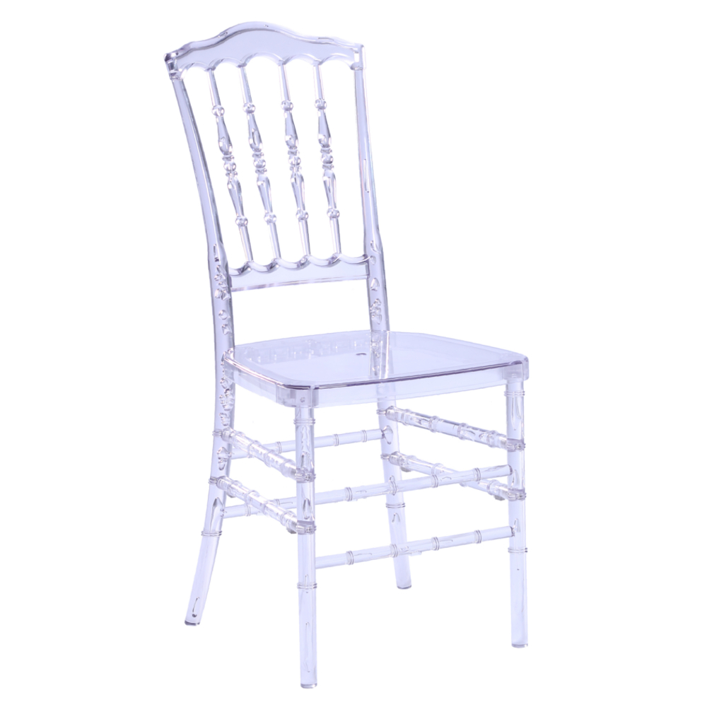 Fine Mod Imports  Acra Dining Chair, Clear