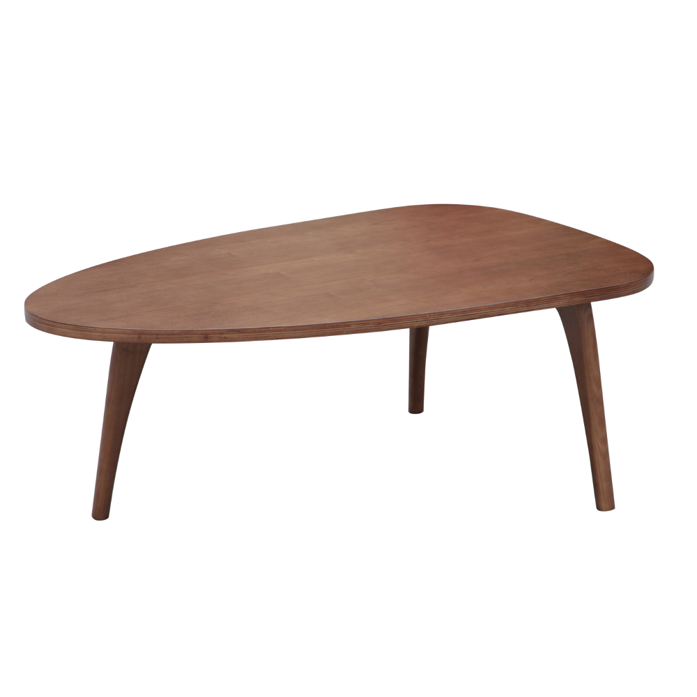 Fine Mod Imports Holland Coffee Table, Walnut