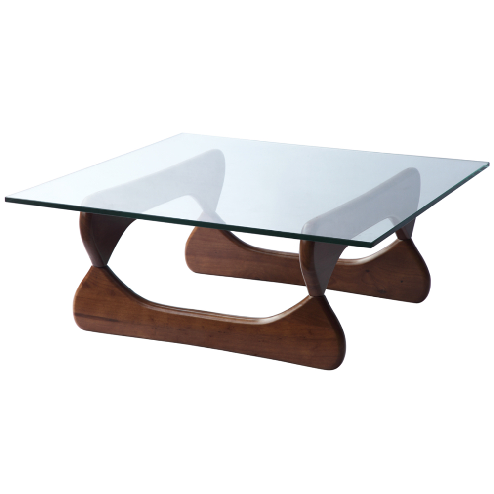 Fine Mod Imports  Guchi Coffee Table, Walnut