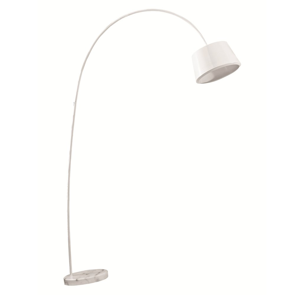 Fine Mod Imports  Estal Floor Lamp, White