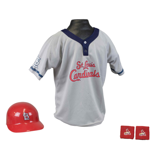 St. Louis Cardinals MLB Youth Helmet and Jersey Set